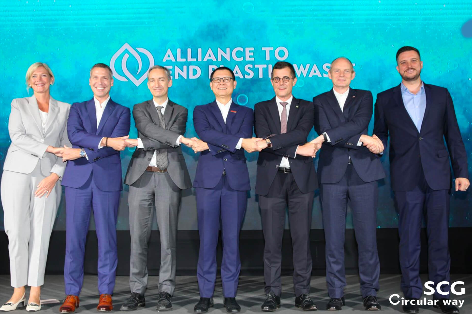 Collaboration with Partners on the Alliance to End Plastic Waste (AEPW)