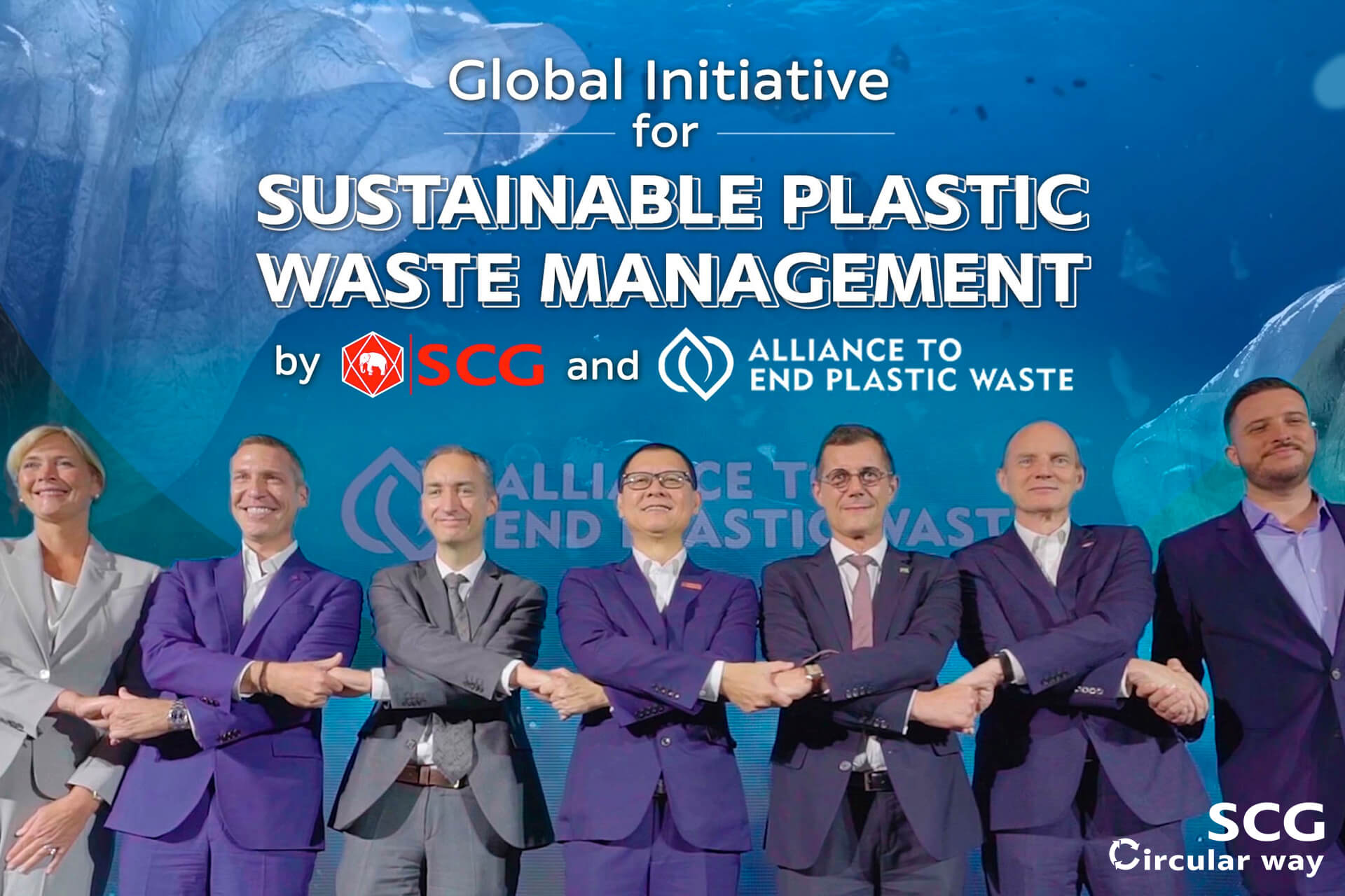 Global Initiative for Sustainable Plastic Waste Management by SCG and AEPW